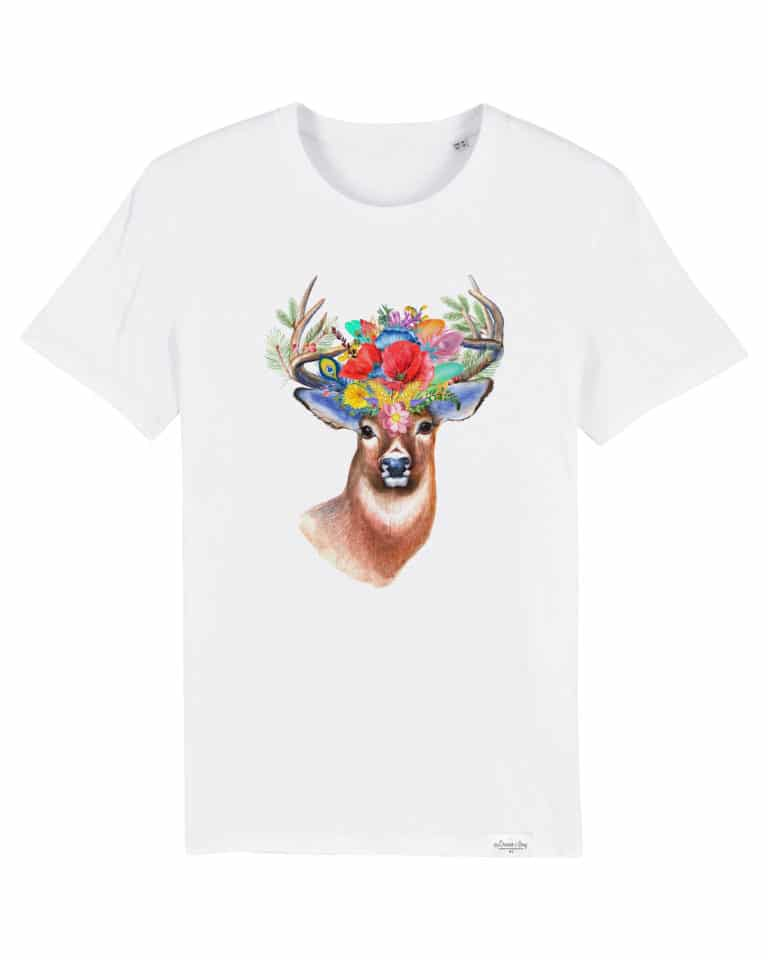 Modèle cerf t-shirt